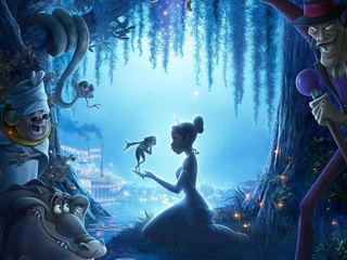 The Princess and the Frog Wallpapers