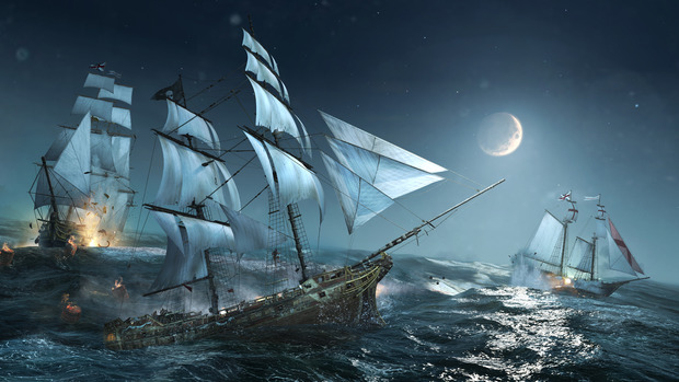 Beautiful Sea Pirate Wallpaper