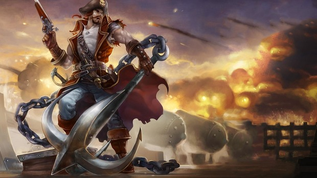 Sea Pirate Desktop Wallpaper