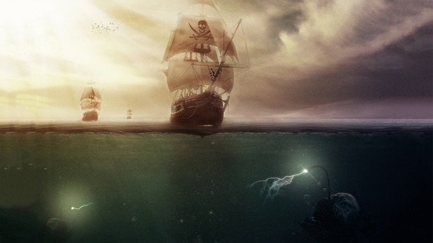 Sea Pirate HD Wallpaper