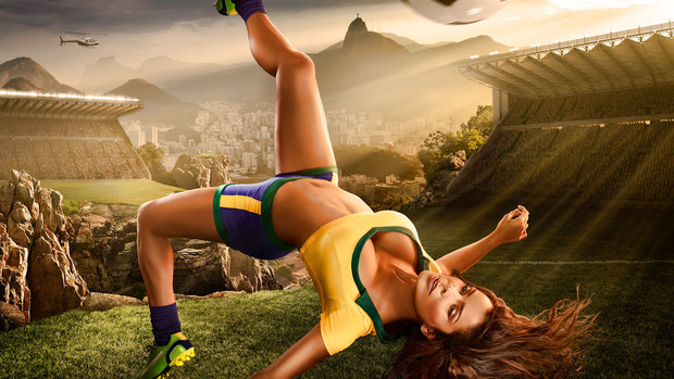 World Cup 2014 Desktop Background