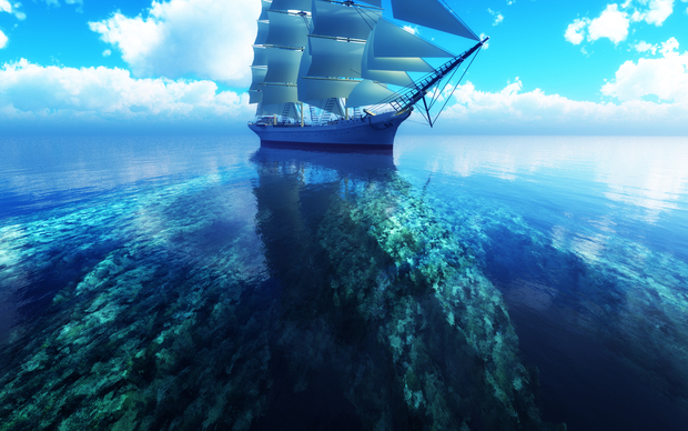 Ships Widescreen Wallpaper