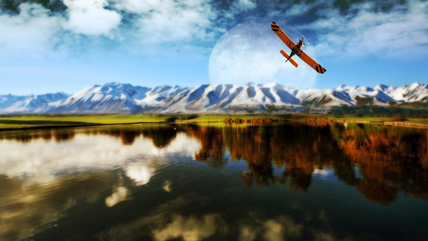 Airplane High Definition Wallpaper