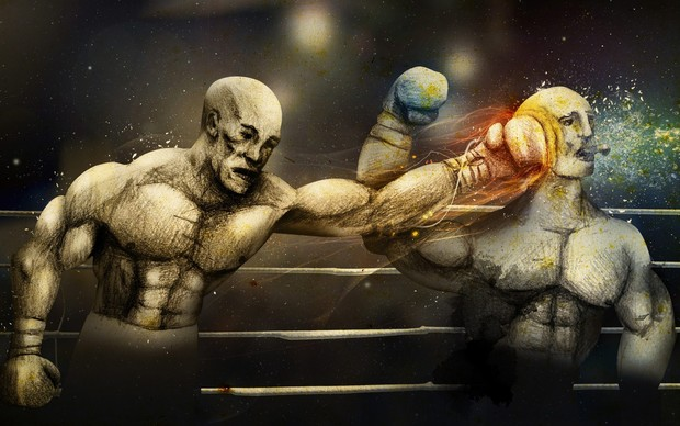 Boxing Desktop Background