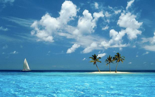 Beautiful Maldive Islands Wallpaper