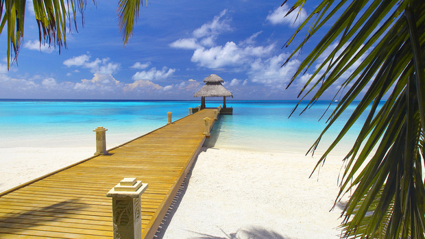 Maldive Islands Desktop Wallpaper