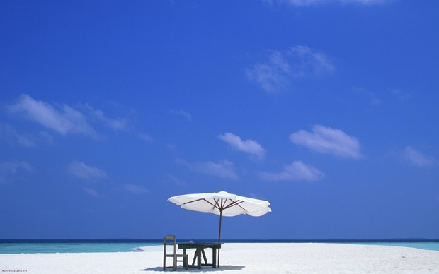 Maldives Beach Image