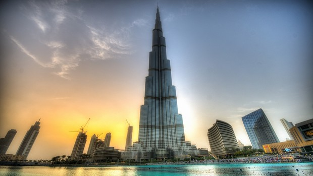 Dubai City HD Wallpaper
