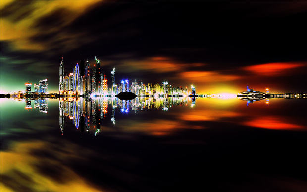 Dubai City High Quality Wallpaper