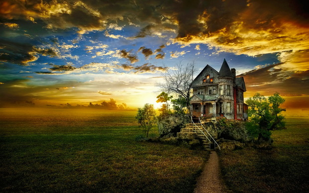 Beautiful House High Quality Wallpaper