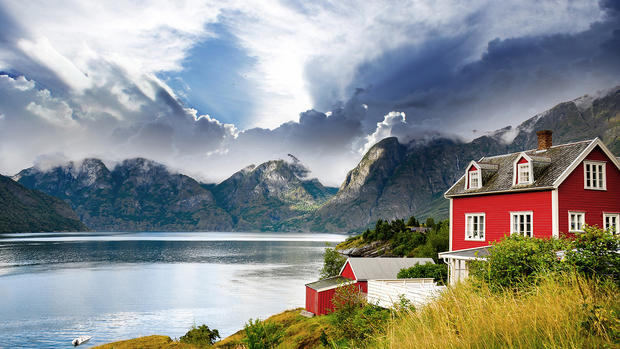 Free Norwegian Nature Wallpaper