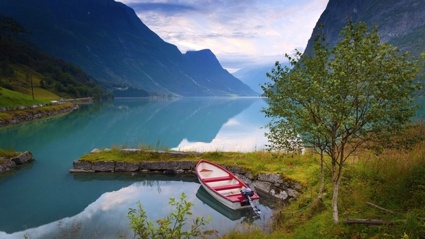 Norwegian Nature High Quality Wallpaper