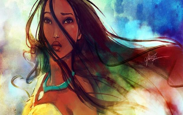Pocahontas Background