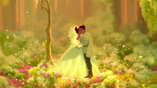 The Princess and the Frog Desktop Wallpaper