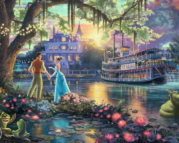The Princess and the Frog High Definition Wallpaper