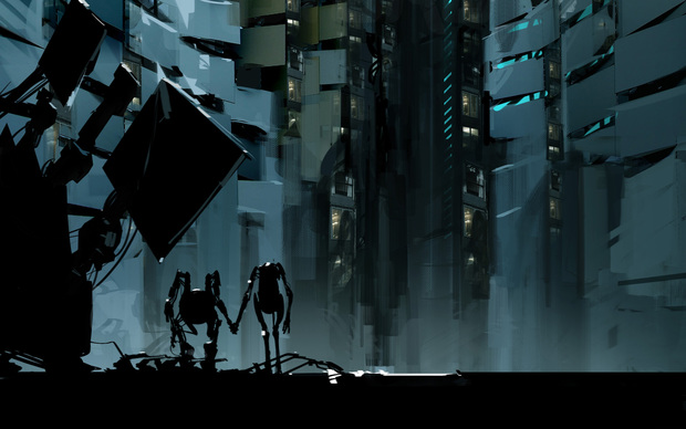 Awesome Portal 2 Game Wallpaper
