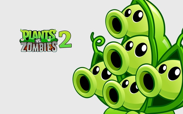 Beautiful Plants vs. Zombies Wallpaper