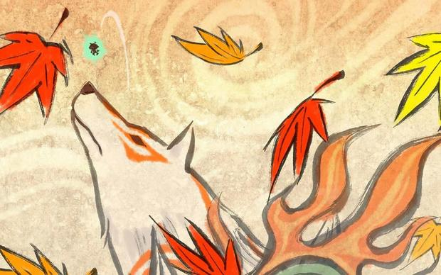 Okami Desktop Background