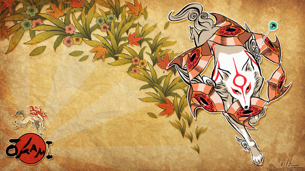 Okami Game Desktop Background