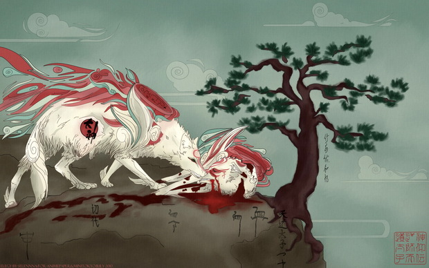 Okami Game Desktop Wallpaper