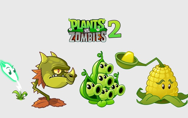 Plants vs. Zombies Desktop Wallpapers