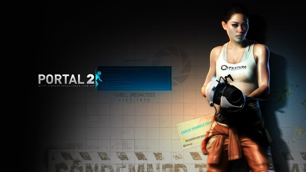 Portal 2 Desktop Wallpapers