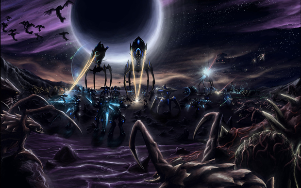 Starcraft 2 Background