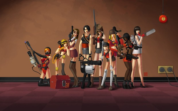 Team Fortress 2 Desktop Wallpaper