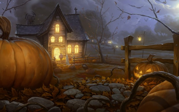 Beautiful Halloween 2014 Wallpaper