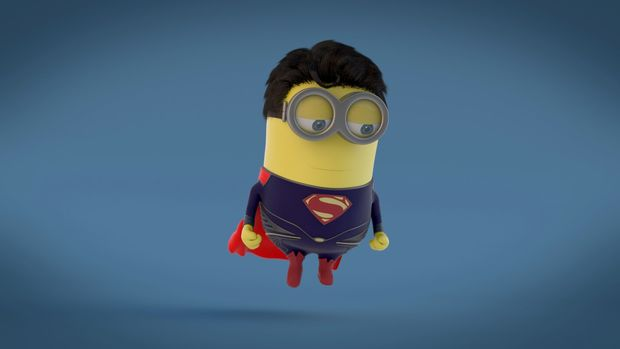 Minion Superman