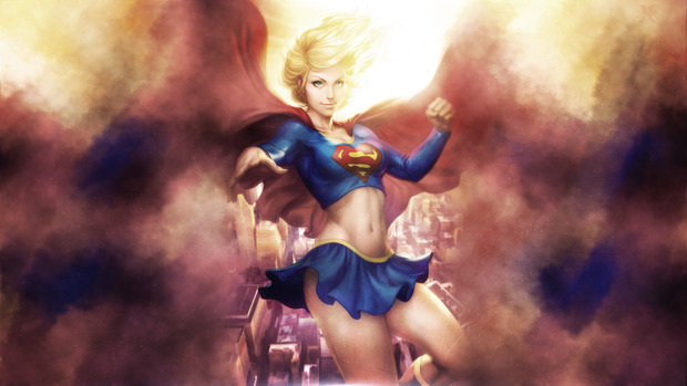HD Supergirl