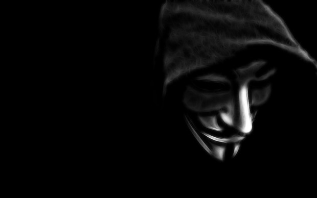 Anonymous Wide Wallpaper