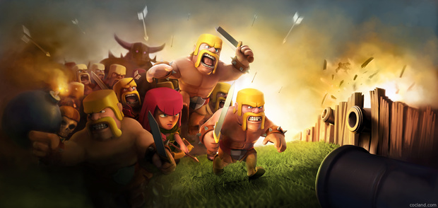 Beautiful Clash of Clans Wallpaper