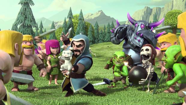 Clash of Clans Desktop Wallpaper