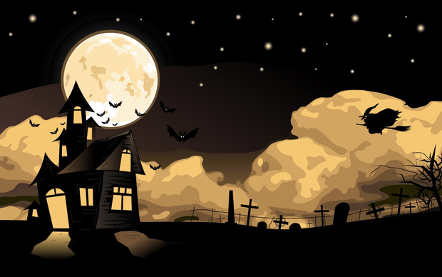 Happy Halloween 2015 Background