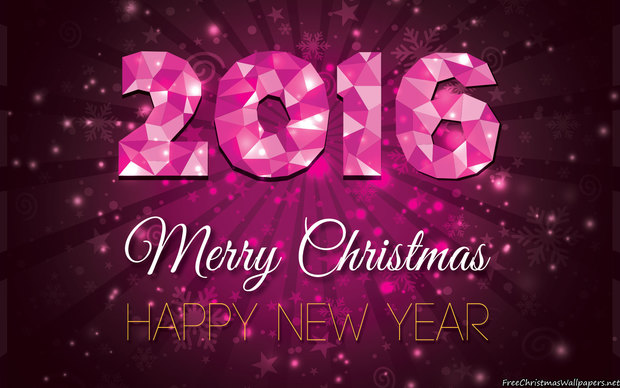 Beautiful Happy New Year 2016 Wallpaper