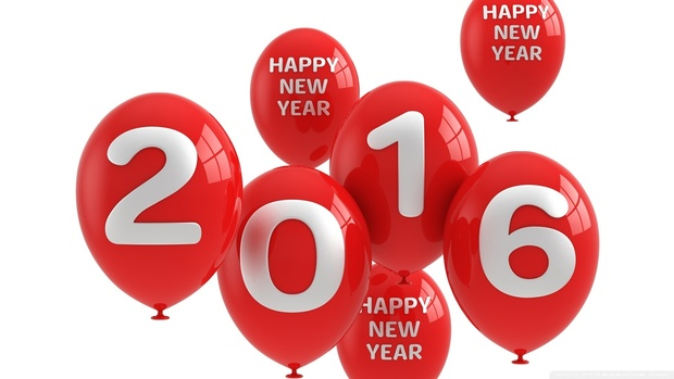 Happy New Year 2016 Backgrounds