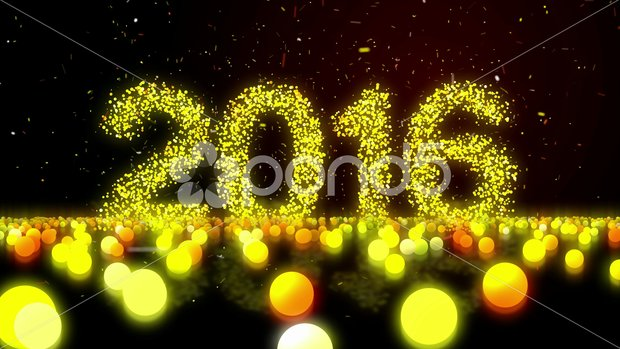 Happy New Year 2016 High Definition