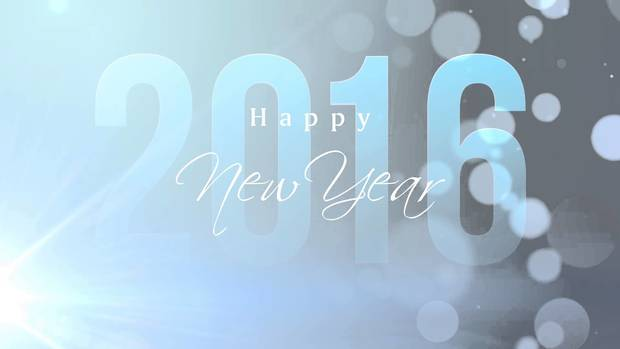HD Happy New Year 2016 Wallpaper