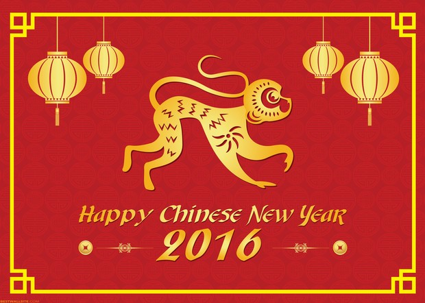 Chinese New Year 2016 Background