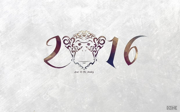 Year of the Monkey 2016 Wallpapers