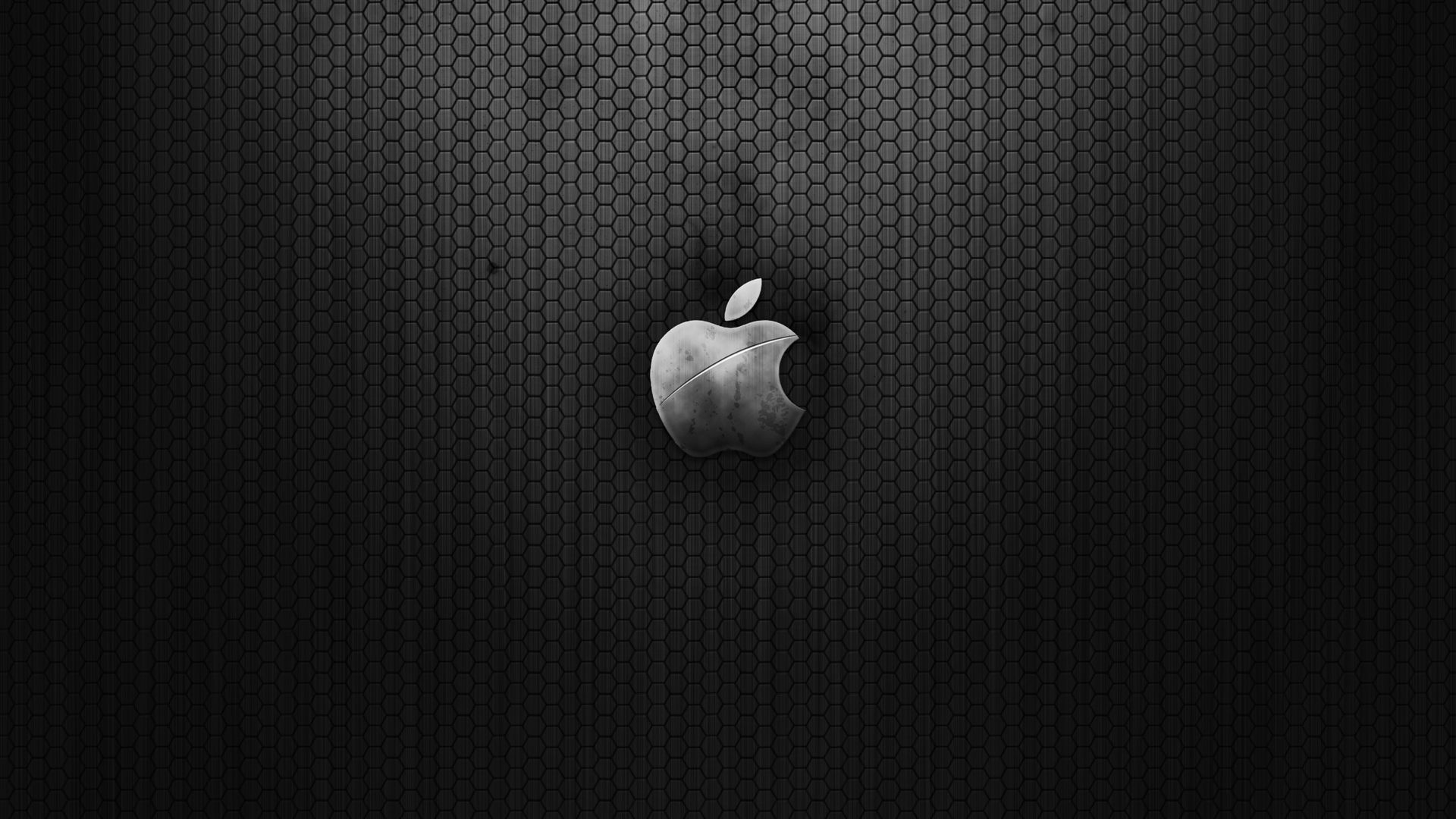 Apple Black Wallpaper 1920x1080