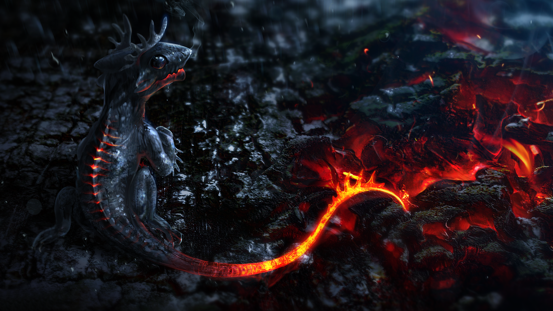 Desktop Wallpapers 1920x1080 Dragon Desktop Wallpaper