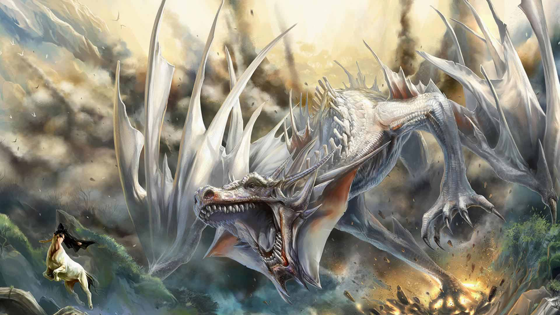 dragon wallpaper widescreen high resolution - photo #44