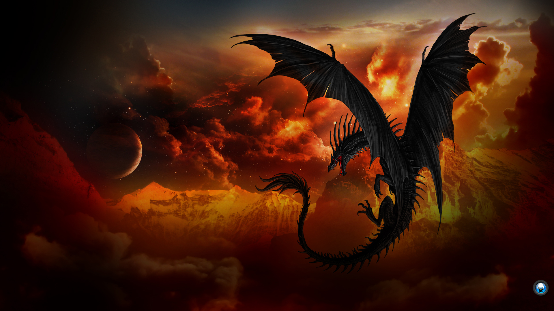 dragon wallpaper widescreen high resolution - photo #25