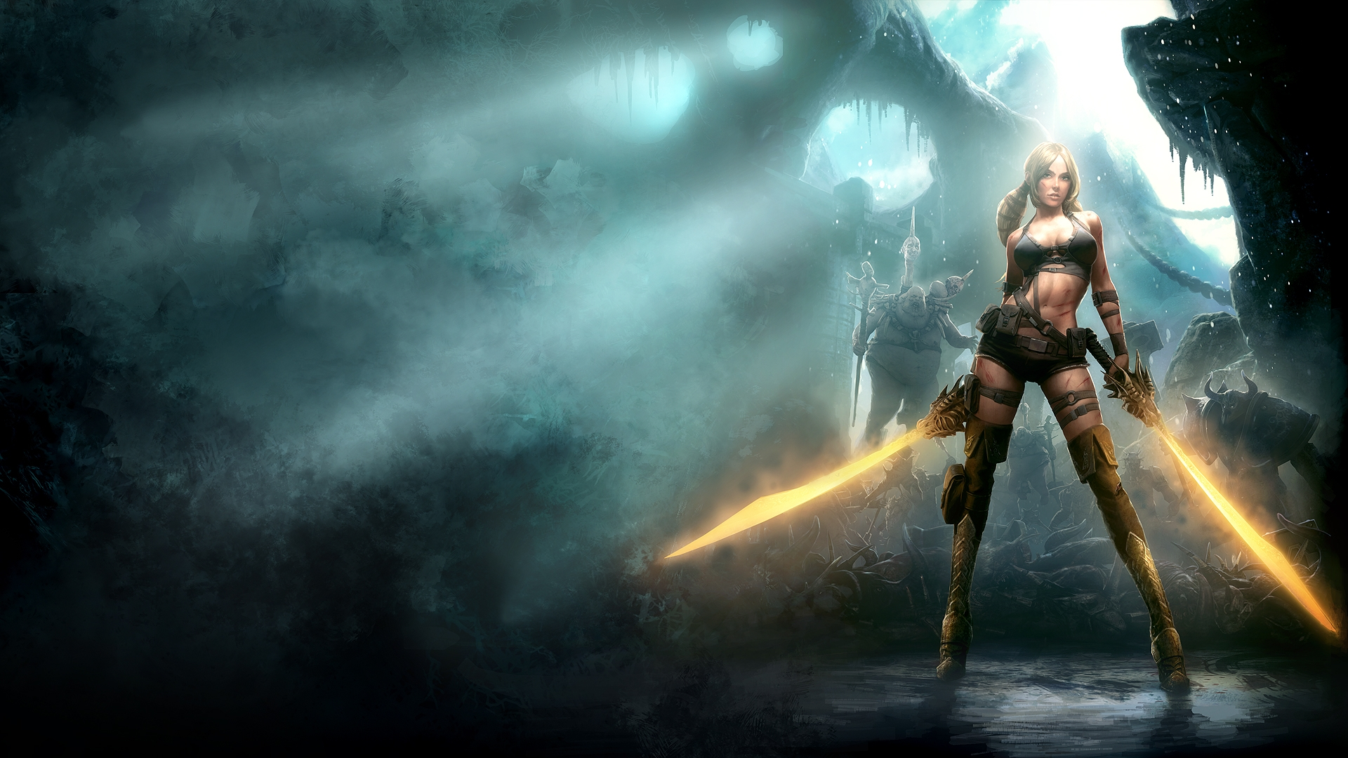 Stunning Hd Fantasy Gaming Desktop Wallpapers: Fantasy Wallpapers