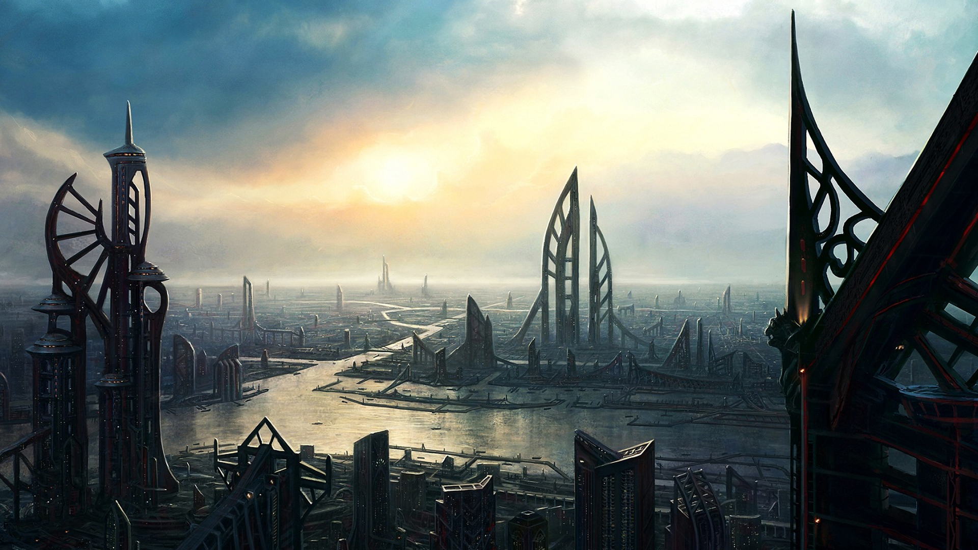 Fantasy City Wallpaper Hd: Fantasy Wallpapers