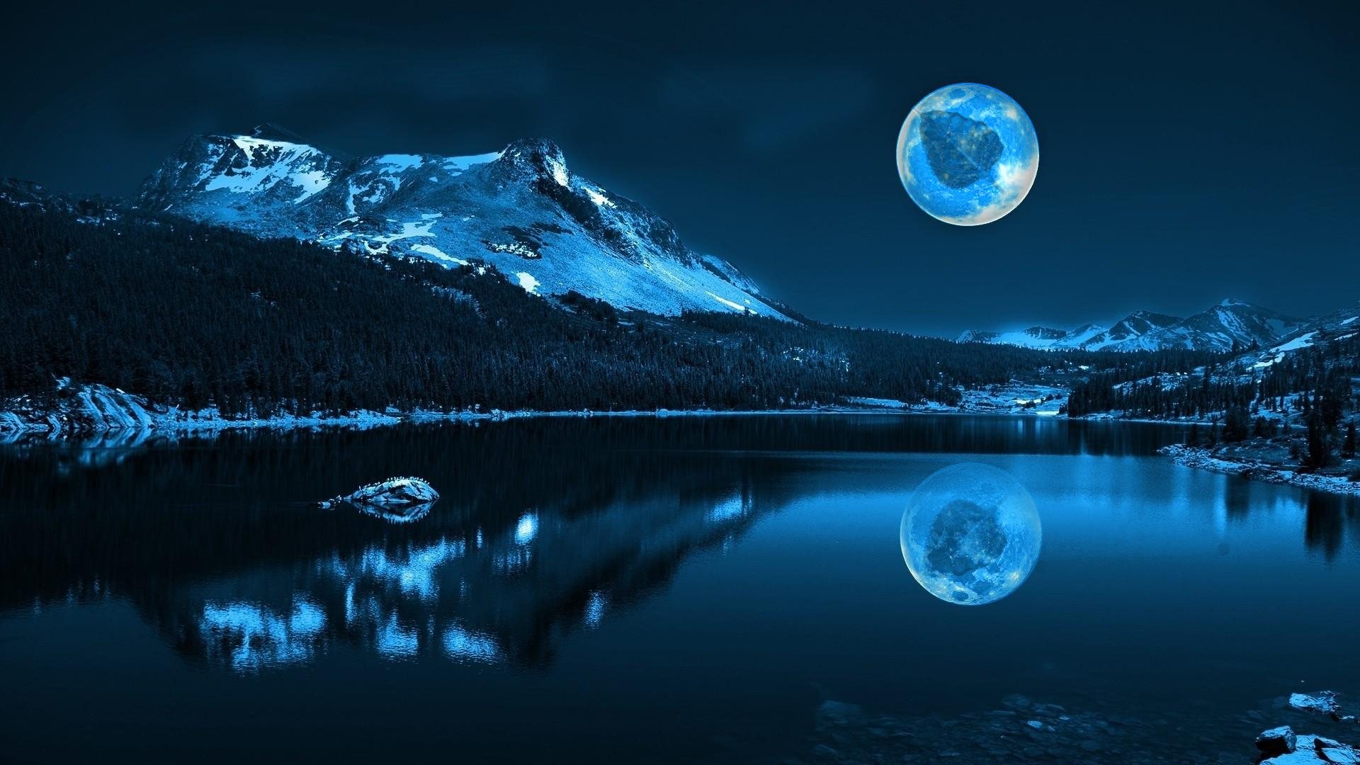 Super Moon Hd Wallpapers For Mobile Phones And Laptops 1920x1200