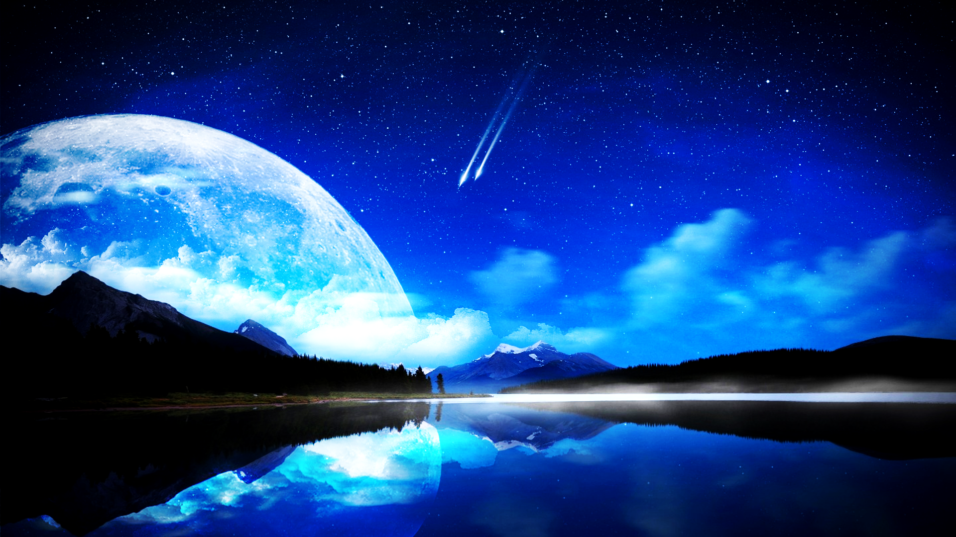 pretty moon wallpapers - photo #43
