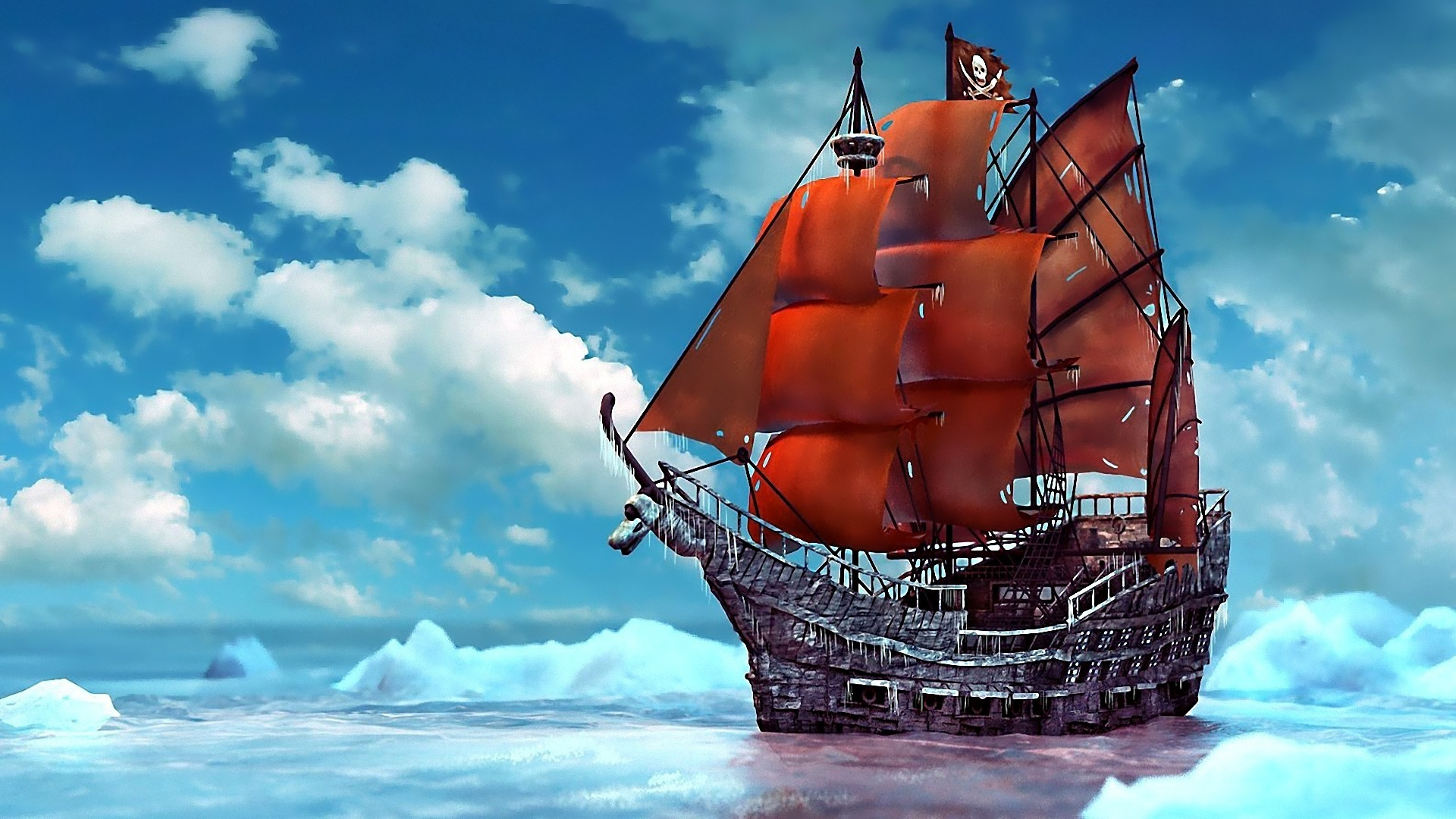 pirate ship computer wallpapers - photo #26